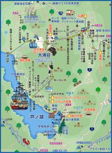 箱根強羅温泉マップ2