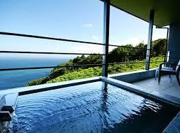 熱海温泉旅館露天風呂