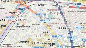 飯田橋 地図