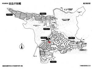 羽鳥湖別荘地マップ