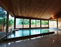 箱根高級温泉旅館浴場