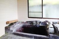 箱根温泉別荘浴室