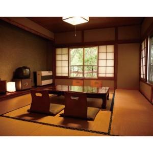 山中湖旅館客室2