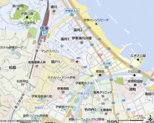 伊東市地図