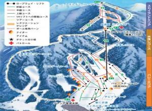 北志賀高原ホテル地図