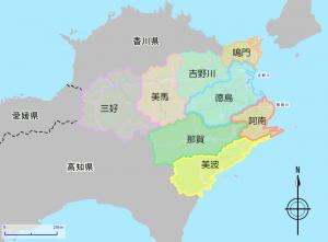 徳島市マップ1