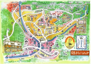 有馬温泉地図