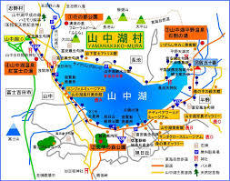 山中湖ペンション観光マップ