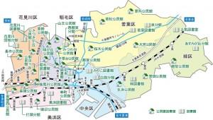 千葉市地図