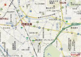 恵比須駅マップ