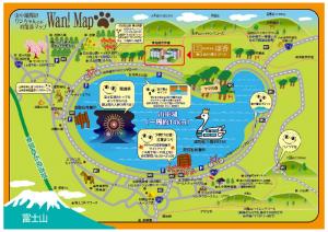 山中湖 周辺の地図