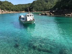 土佐清水のグラスボート