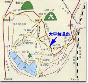 箱根大平台地図