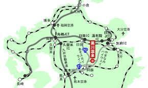 黒川温泉マップ2