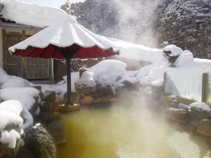 濁川温泉露天風呂