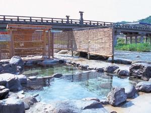三朝温泉川原の湯