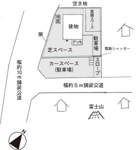 八ヶ岳別荘配置図