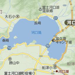 富士河口湖地図