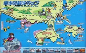 串本温泉地図