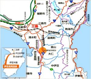 伊豆長岡温泉地図2