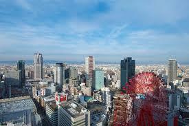 大阪市内全景